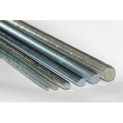 Srieginiai strypai ( 4.8 paprasti, 8,8 sustiprinti, nerūdijančio plieno )
