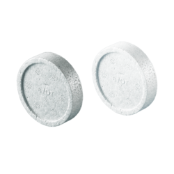 STR U polistirolo tabletės